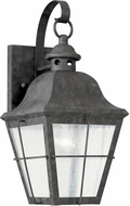 Seagull 8462-46 Chatham Traditional Oxidized Bronze Outdoor 14.5 Lighting Sconce