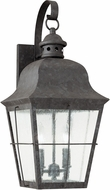 Seagull 8463-46 Chatham Traditional Oxidized Bronze Outdoor 21 Lighting Wall Sconce