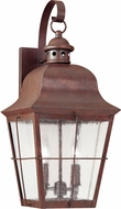 Seagull 8463EN-44 Chatham Traditional Silver LED Exterior Wall Lighting Sconce
