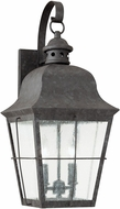 Seagull 8463EN-46 Chatham Traditional Oxidized Bronze LED Exterior 21 Wall Mounted Lamp