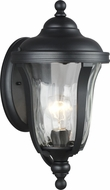 Seagull 8514201-12 Perrywood Black Outdoor Small Wall Sconce Lighting