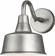 Seagull 8537401-57/T Barn Light Retro Weathered Pewter LED Exterior Wall Lamp