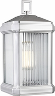 Seagull 8547431-753 Gaelan Contemporary Painted Brushed Nickel Outdoor Wall Mounted Lamp