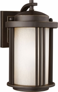 Seagull 8547901EN-71 Crowell Modern Antique Bronze LED Exterior Wall Sconce Lighting