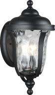 Seagull 8614203-12 Perrywood Black Outdoor Light Sconce