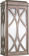 Seagull 8719601-44 Melito Modern Weathered Copper Outdoor Wall Light Sconce