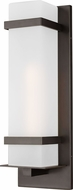 Seagull 8720701-71 Alban Modern Antique Bronze Exterior Large Wall Light Sconce