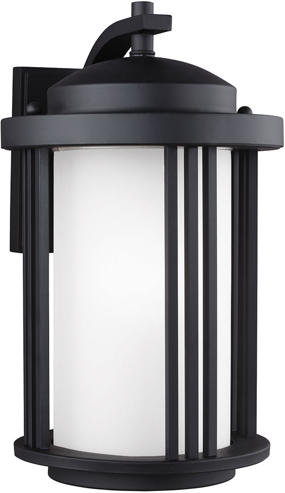 Seagull crowell black outdoor lighting sconce sgl crowell 9 black seagull crowell black outdoor lighting sconce loading zoom aloadofball Gallery