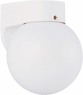 Seagull 8753EN-15 Contemporary White LED Exterior Wall Mounted Lamp