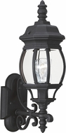 Seagull 88200-12 Wynfield Traditional Black Outdoor Wall Sconce Lighting