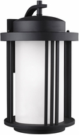 Seagull 8847901DEN3-12 Crowell Contemporary Black LED Exterior Sconce Lighting