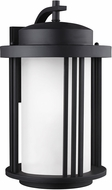 Seagull 8847901EN-12 Crowell Contemporary Black LED Exterior Wall Light Fixture
