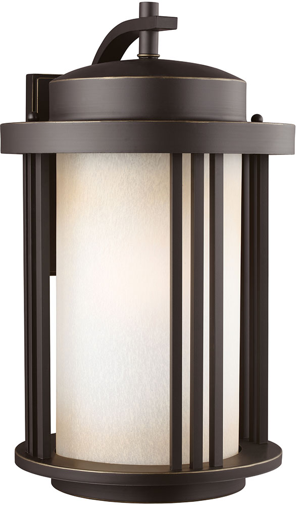 Seagull 8847901en 71 Crowell Modern Antique Bronze Led Outdoor Lighting Wall Sconce Sgl