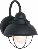 Seagull 8870-12 Sebring Vintage Black Outdoor 8 Wall Mounted Lamp