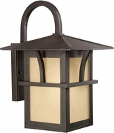 Seagull 88882-51 Medford Lakes Mission Statuary Bronze Outdoor 11 Lighting Sconce