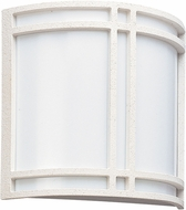 Seagull 89060EG-15 Piedmont Contemporary White LED Wall Light Sconce