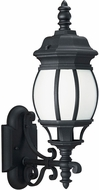 Seagull 89102-12 Wynfield Traditional Black Outdoor Wall Sconce Lighting