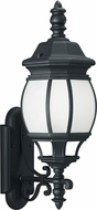 Seagull 89103EN3-12 Wynfield Traditional Black LED Exterior Wall Lighting Sconce