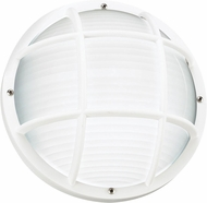 Seagull 89807-15 Bayside Contemporary White Outdoor Wall Lighting