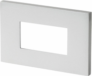 Seagull 93405S-849 LED Step Lighting Modern Satin Nickel LED Exterior Step Light