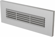 Seagull 94481S-849 LED Brick Lighting Modern Satin Nickel LED Outdoor Step Lighting