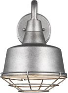 Seagull 95374-57 Barn Light Contemporary Weathered Pewter 8 Lighting Wall Sconce