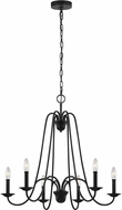 Seagull F3205EN/6AF Boughton Antique Forged Iron Ceiling Chandelier