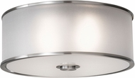 Seagull FM291BS Casual Luxury Brushed Steel Flush Lighting