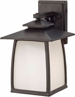 Seagull OL8501EN3/ORB Wright House Oil Rubbed Bronze LED Exterior Wall Sconce Lighting