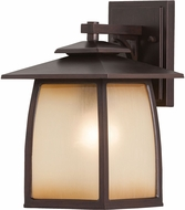 Seagull OL8501SBR Wright House Sorrel Brown Outdoor Wall Lighting Sconce