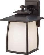 Seagull OL8502EN3/ORB Wright House Oil Rubbed Bronze LED Exterior Wall Sconce Lighting