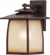 Seagull OL8502EN3/SBR Wright House Sorrel Brown LED Outdoor Wall Mounted Lamp