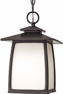 Seagull OL8511EN3/ORB Wright House Oil Rubbed Bronze LED Exterior Drop Lighting Fixture