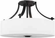 Seagull SF258ORB Sunset Drive Modern Oil Rubbed Bronze LED 16  Ceiling Light Fixture