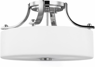 Seagull SF259CH Sunset Drive Contemporary Chrome LED 13  Overhead Lighting