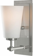 Seagull VS14901EN3-BS Sunset Drive Contemporary Brushed Steel LED Wall Sconce Lighting