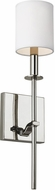 Seagull WB1873PN Hewitt Polished Nickel Wall Mounted Lamp