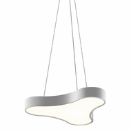 Sonneman 1730.16 Corso Rhythm Contemporary Bright Satin Aluminum LED Pendant Lighting