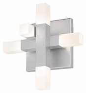 Sonneman 2110.16 Connetix Contemporary 8 Inch Tall 5 LED Lighting Sconce - Small