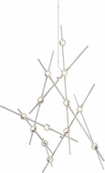Sonneman 2151.13C Constellation Contemporary Satin Nickel LED Chandelier Light