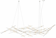 Sonneman 2158.13W Constellation Modern Satin Nickel LED Chandelier Light