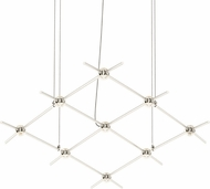 Sonneman 21Q13-RC3312 Constellation Contemporary Satin Nickel LED Ceiling Chandelier