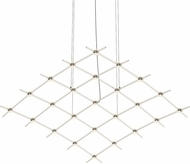 Sonneman 21Q13-RC5512 Constellation Modern Satin Nickel LED Hanging Chandelier