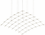 Sonneman 21Q13-RC7712 Constellation Contemporary Satin Nickel LED Chandelier Light