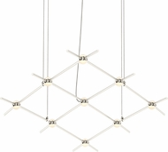 Sonneman 21Q13-RW3312 Constellation Modern Satin Nickel LED Chandelier Lighting