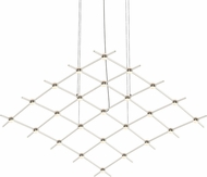 Sonneman 21Q13-RW5512 Constellation Contemporary Satin Nickel LED Lighting Chandelier
