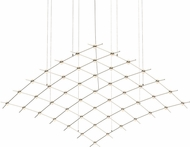 Sonneman 21Q13-RW7712 Constellation Modern Satin Nickel LED Chandelier Lamp