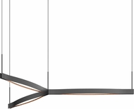 Sonneman 22QKCT01120PHA Ola Contemporary Satin Black LED Pendant Lighting