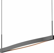 Sonneman 22QKRL01120PHA Ola Modern Satin Black LED Island Light Fixture