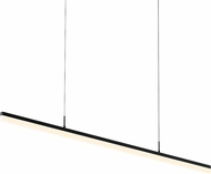 Sonneman 2348.25 Stiletto Contemporary Satin Black LED 60  Kitchen Island Light Fixture